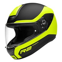 Schuberth R2 helmet in nemesis yellow