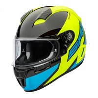 Schuberth SR2 helmet in wildcard yellow
