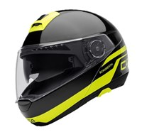 Schuberth C4 helmet in pulse black