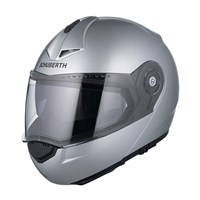 Schuberth C3 Pro helmet in gloss silver