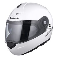 Schuberth Ladies C3 Pro helmet in gloss white