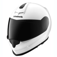 Schuberth S2 Sport helmet in gloss white