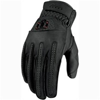 Icon Rimfire gloves in black