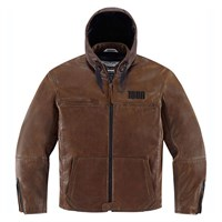 Icon 1000 hooded jacket in brown