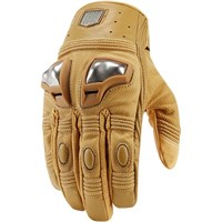 Icon Retrograde gloves in tan