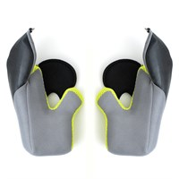 Klim Krios Pro cheek pads 15mm hi-vis XS-M