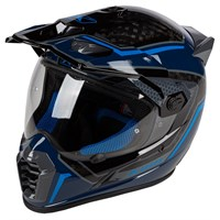 Klim Krios Pro helmet in Mekka Kinetic blue