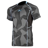 Klim Aggressor Cool base layer short-sleeve shirt in camo