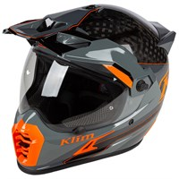 Klim Krios Pro helmet in Loko Striking Gray