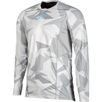 Klim Aggressor Cool base layer long-sleeve shirt in light camo
