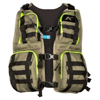 Klim Arsenal vest in sage / high-vis