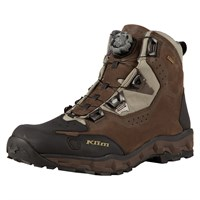 Klim Outlander GTX boot in chocolate brown