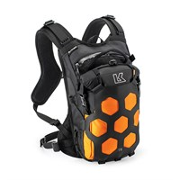 Kriega TRAIL9 adventure backpack in orange