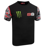 Lorenzo 2016 Camo Monster T-Shirt - Black