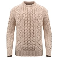 McQueen Arran Jumper - Wheat