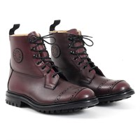 Trickers Riding boots in burgundy