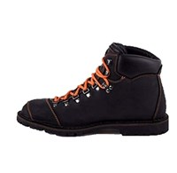 Magellan & Mulloy boots in black orange stitching