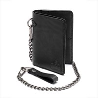 Fletcher personalised wallet in black
