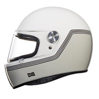 Nexx XG100R Motordrome helmet in white