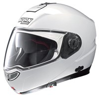 Nolan N104 Absolute White helmet