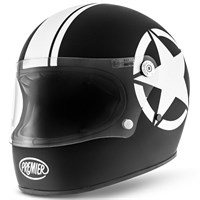 Premier Trophy Star Black Helmet