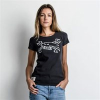 Red Torpedo Guy Martin Spanner Swarm ladies T-shirt