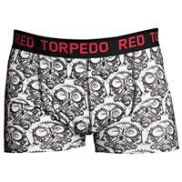 Red Torpedo Guy Martin Petrolhead Boxer Short