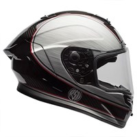 Bell Street Race Star RSD Chief helmet in carbon / silver