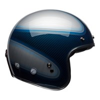 Bell Custom 500 RSD Jager Candy Blue Carbon helmet