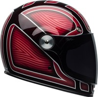 Bell Bullitt Ryder helmet in gloss red