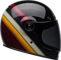 Bell Bullitt Burnout helmet in gloss black / white / orange