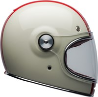 Bell Bullitt Command helmet in gloss white / red / blue