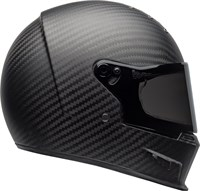 Bell Eliminator Carbon helmet in matt black