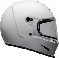 Bell Eliminator helmet in white