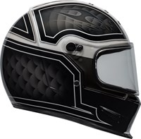 Bell Eliminator helmet in outlaw black / white