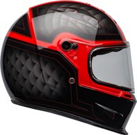 Bell Eliminator helmet in outlaw black / red