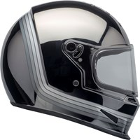 Bell Eliminator helmet in matt black / chrome