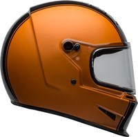 Bell Eliminator helmet in rally orange / black