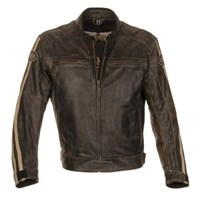 Richa Retro Racing jacket in brown