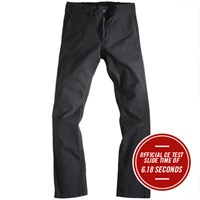 Rokker chino in black