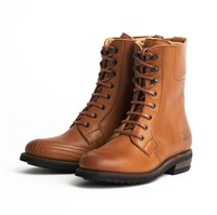 Rokker Urban Racer ladies boots in brown