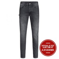 Rokker Rokkertech Super Slim jeans in black