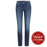 Rokker Rokkertech Ladies jeans in blue