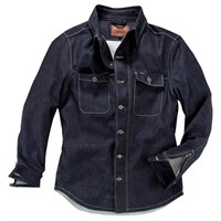 Rokker Denim Rider shirt in blue