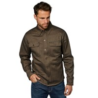 Rokker Richmond Rider shirt in green/ blue