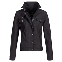 Rokker Ladies Short Black jacket