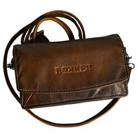 Rokker ladies wallet in cognac