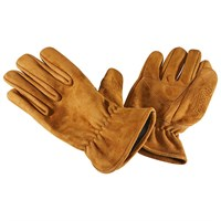 Rokker Nubuck gloves in tan