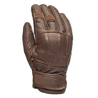 Roland Sands Barfly gloves in brown