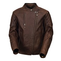 Roland Sands Clash jacket in tobacco
